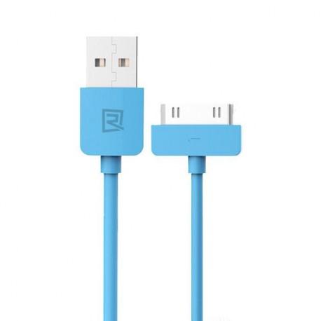 Καλώδιο φόρτισης Remax για iPhone 4 / 4s μπλε